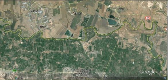חקלאות והתיישבות ירדנית וישראלית משני צידי עמק הירדן