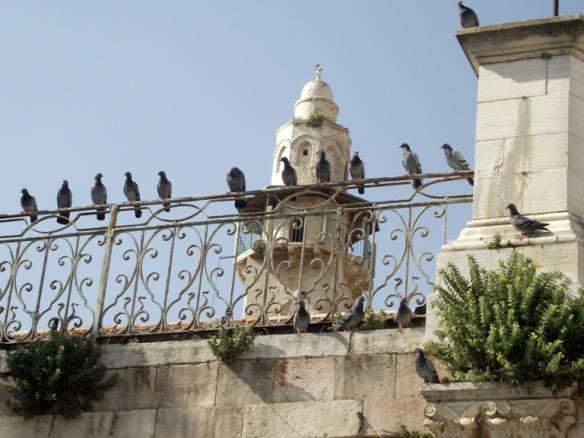 בעיר העתיקה.